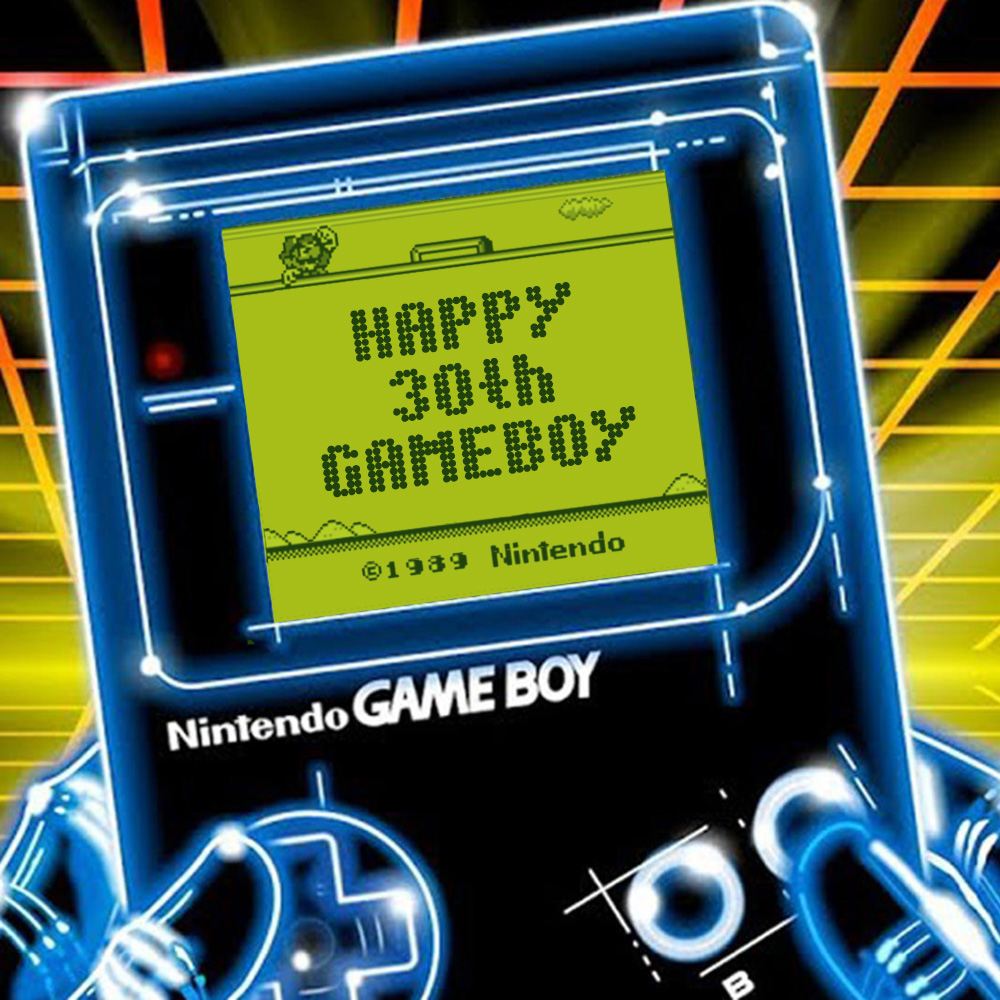gameboy anniversary